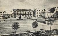 Antica foto di Piazza Aldo Moro a Locorotondo