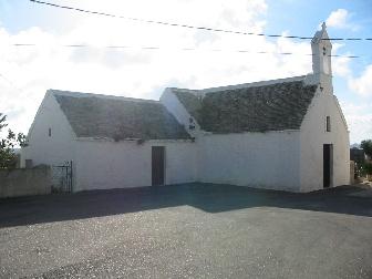 Foto della vecchia chiesa in contrada S. Marco