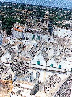 Foto con vista dall'alto delle cummerse del nostro centro storico