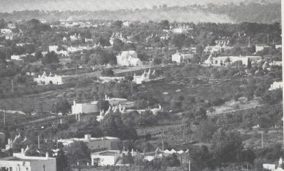 Antica foto del territorio comunale (Valle d'Itria)