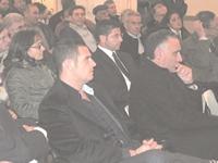 Foto di gruppo durante incontro a Villa Mitolo