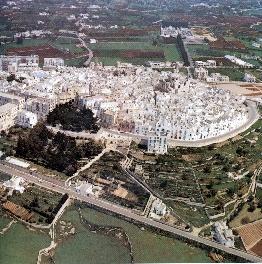 Foto aerea del centro abitato