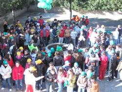 Foto panoramica di bambini
