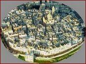 Vista aerea del Centro Storico di Locorotondo
